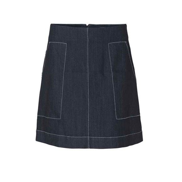 Levete Room Gabi A-Line Denim Skirt