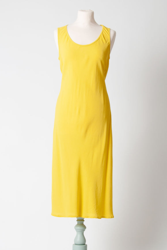 HW2 - Yellow Slip Dress