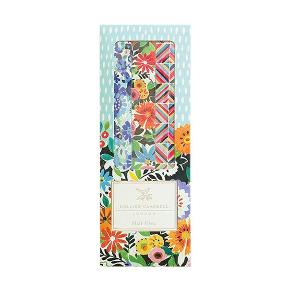 Collier Campbell Set of Three Floral Nail Files