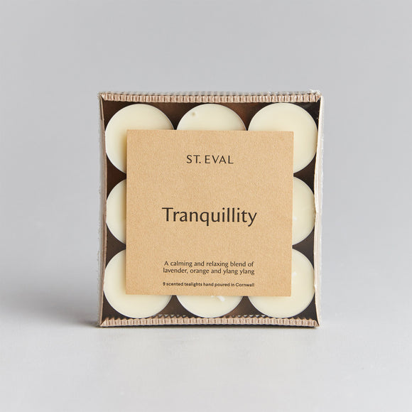 St Eval Tranquility Scented Tealight Candles