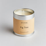 St Eval Fig Tree Tin Candle
