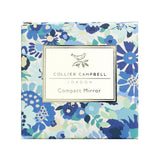 Collier Campbell Blue Floral Compact Mirror