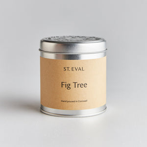 St Eval Fig Tree Scented Tin Candle