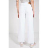 American Vintage White Tineborow High Waist Straight Leg Jeans