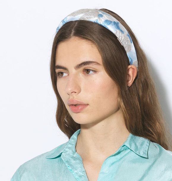 Becksöndergaard Apalis Light Blue Floral Headband