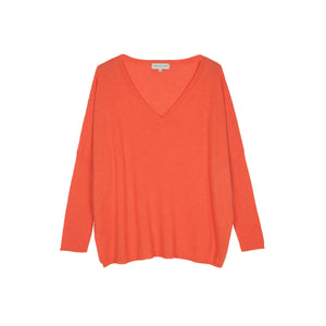 Maison Anje Lesiena Jumper in Grenad Orange