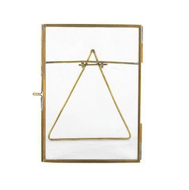 Nkuku - Danta Antique Brass Frame - Antique Brass 5