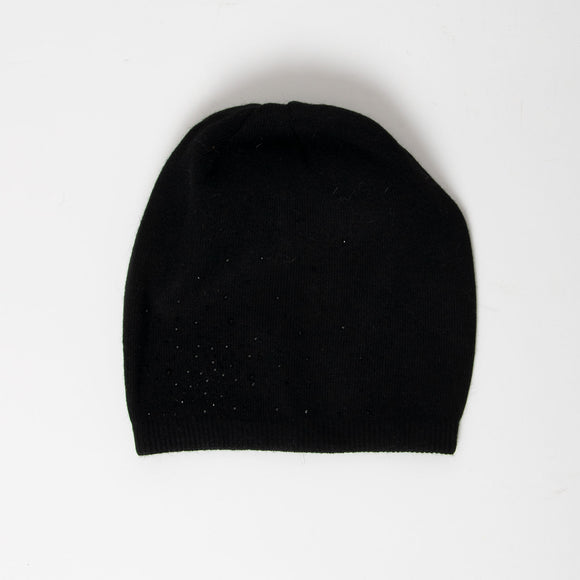 Tilley & Grace - Cashmere Beanie in Black