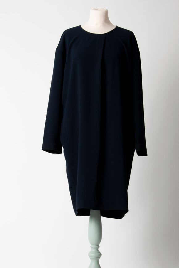 Humanoid - Navy Long Sleeve Dress