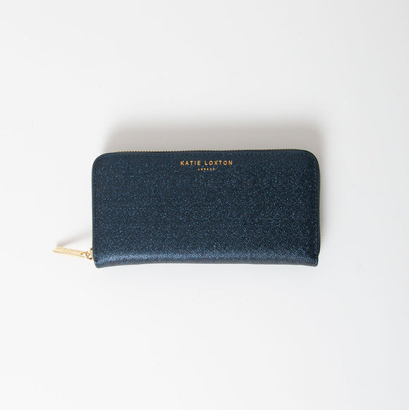 Katie Loxton - Shimmer Purse in Blue