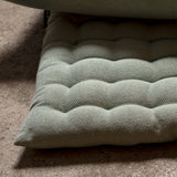 Linum - Pepper Seat Cushion in Light Ice Green