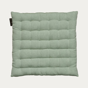 Linum Pepper Seat Cushion in Light Ice Green