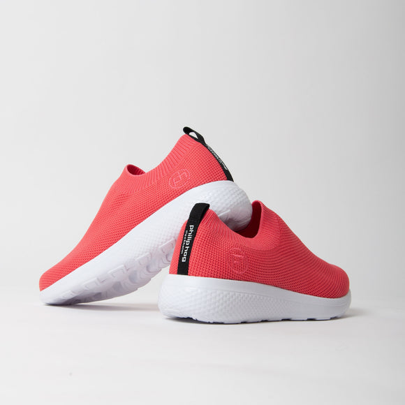 Philip Hog - Anja Slip On Trainer In Coral