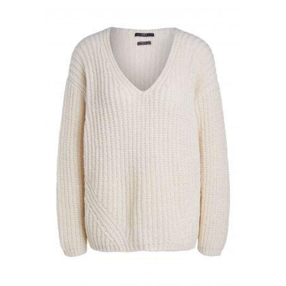 Set Fashion - Cream Knitted Jumper