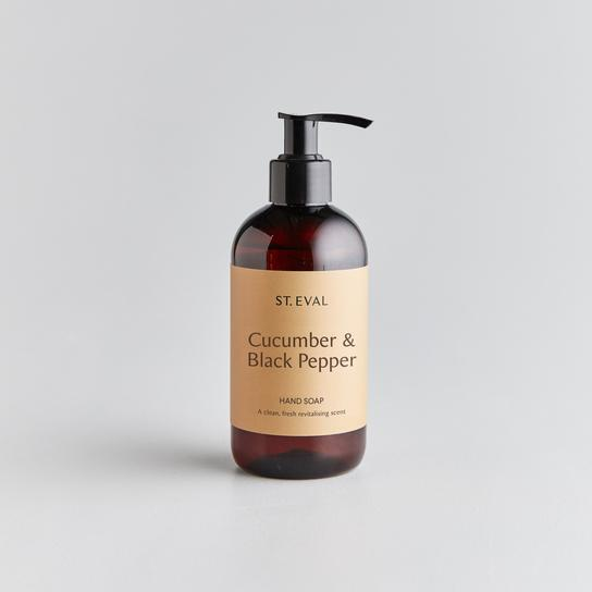 St Eval Cucumber & Black Pepper Liquid Hand Soap (WITHOUT pump)