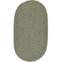 The Braided Rug Company - Eco Braid Rug Olive Small