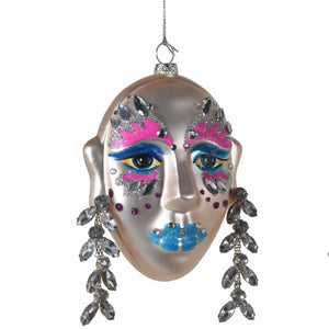Coach House - Carnival Face Bauble