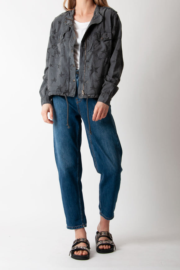 Five Jeans - 492 Bella Veste Star Jacket In Carbone