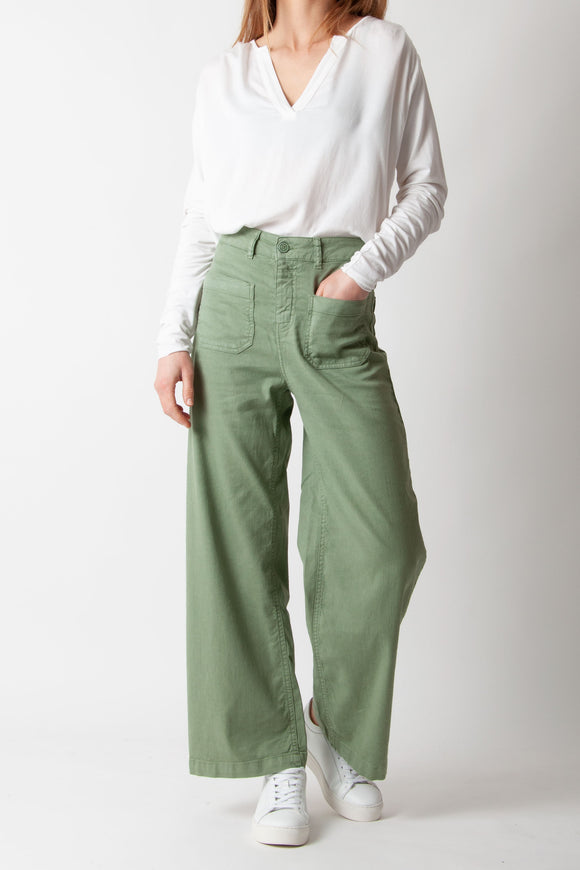 Five Jeans - 193 Lucia Pant in Oil Green