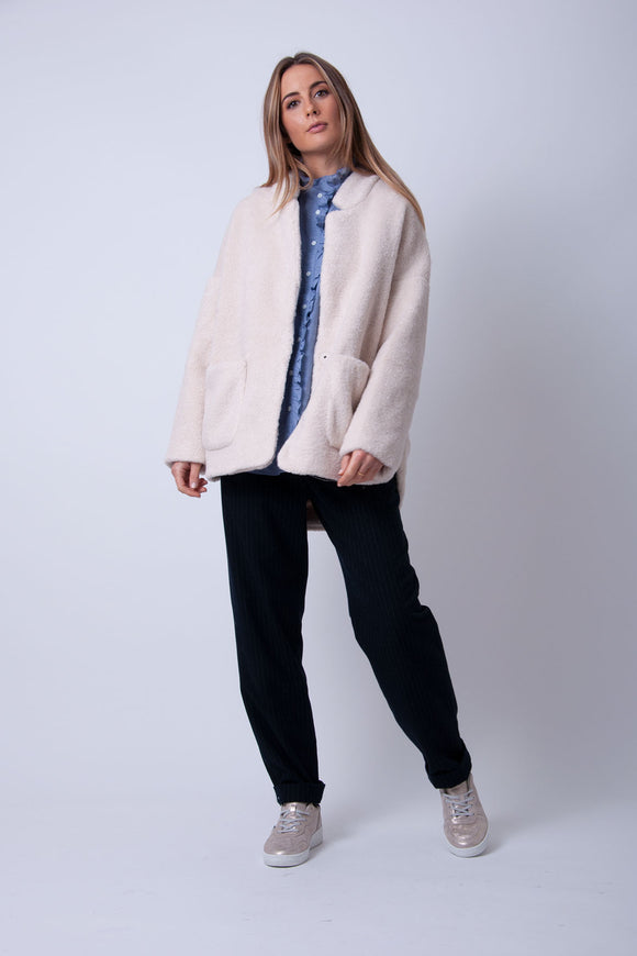 FRNCH - Scheila Ecru Coat