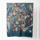 Ombre -  Paisley Print Scarf