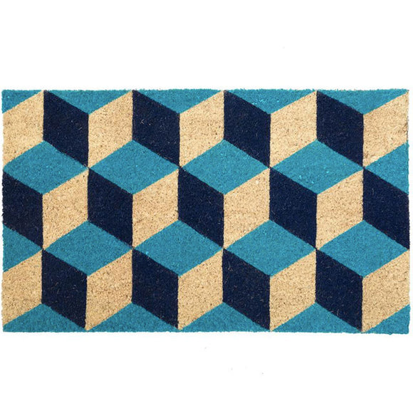 Bombay Duck London - Geometric Octagonal Diamonds Doormat