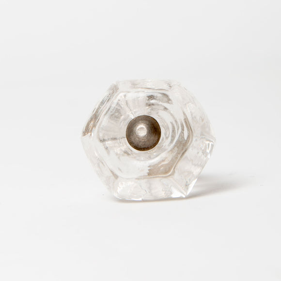 Annabelle - Clear Polygon Shaped Knob