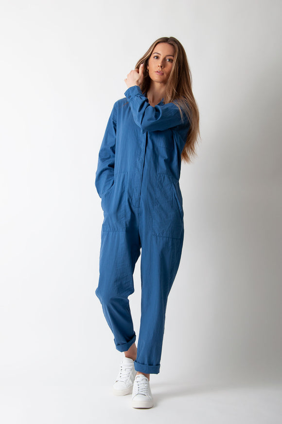 Harford - Patsy Jumpsuit In Blue