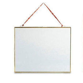 Nkuku - Extra Large Kiko Glass Frame - Antique Brass - Landscape 29X36cm