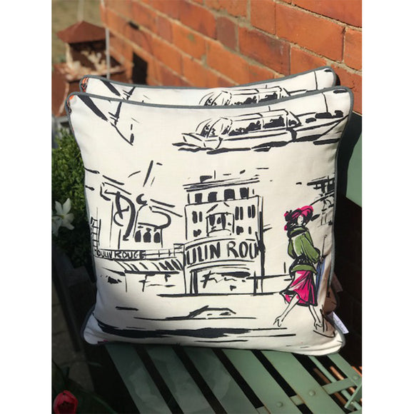 Simply Living Parisienne Moulin Rouge 50 x 50 cm Cushion