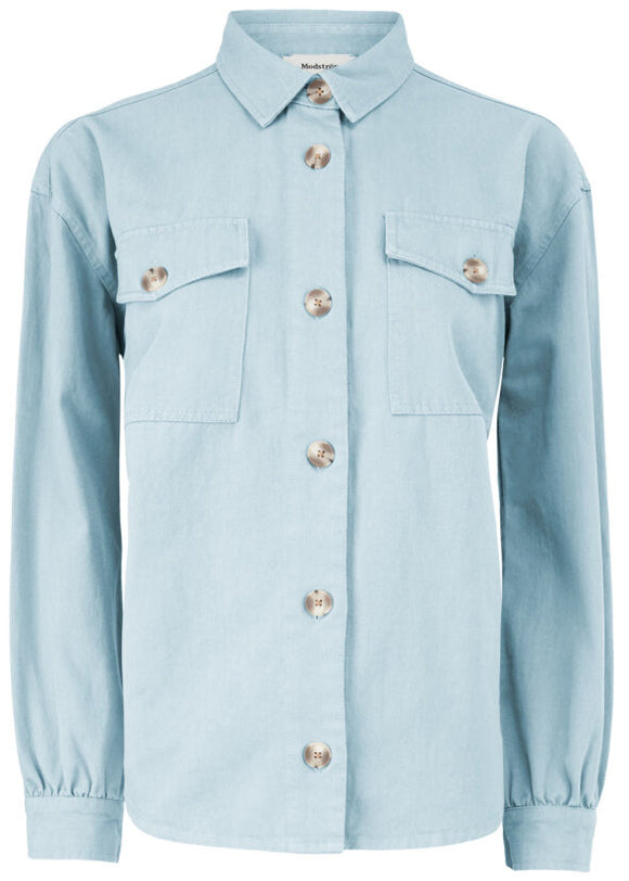 Modström - Catalina Shirt In Chambray Blue