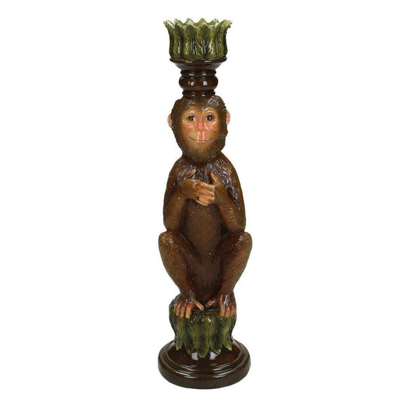 Libra Elena Monkey Candle Holder