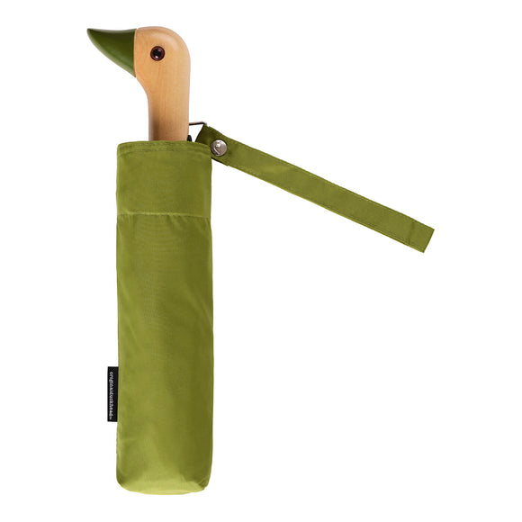 Original DuckHead - Olive Compact  Umbrella