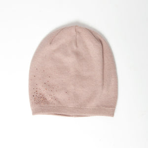 Tilley & Grace - Cashmere Beanie in Dusky Pink
