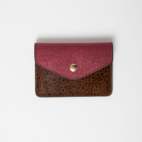 Nooki - Ivana Burgundy Card Holder / Coin Purse