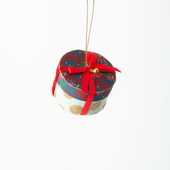Gisela Graham - Christmas Present Tree Decoration in Red
