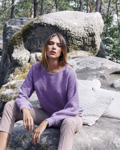 Grace & Mila - Brice Jumper in Violet