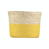 Medium Calypso Daffodil Jute Basket