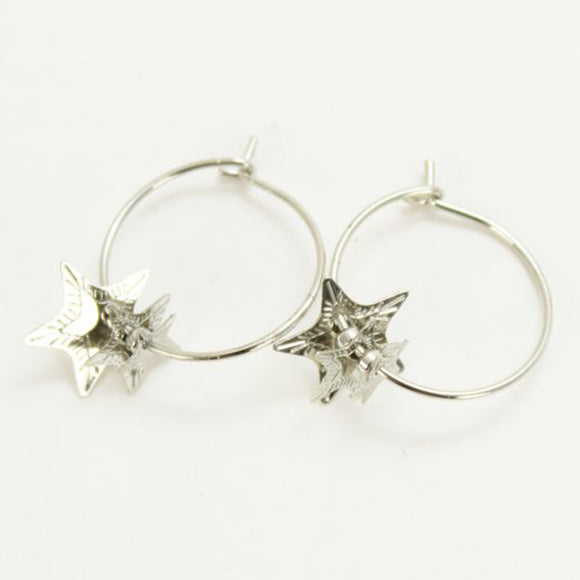 Tilley & Grace Cuba Star Silver Earrings