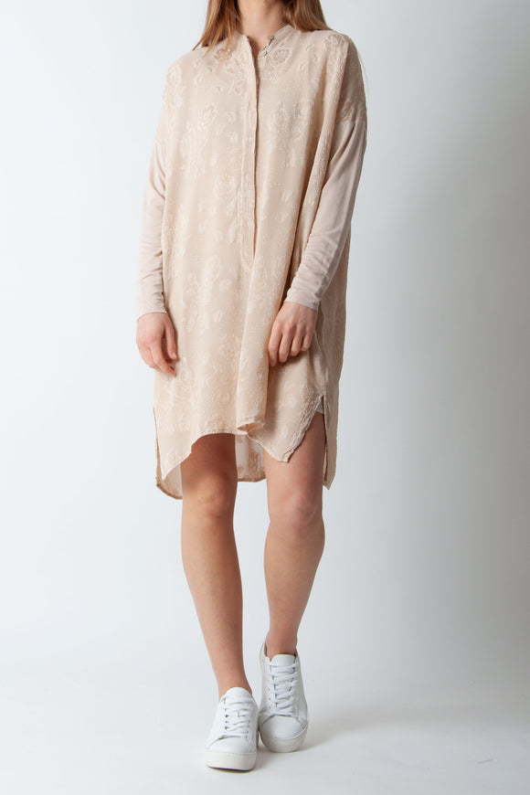Project AJ117 - Sheena Dress in Sand