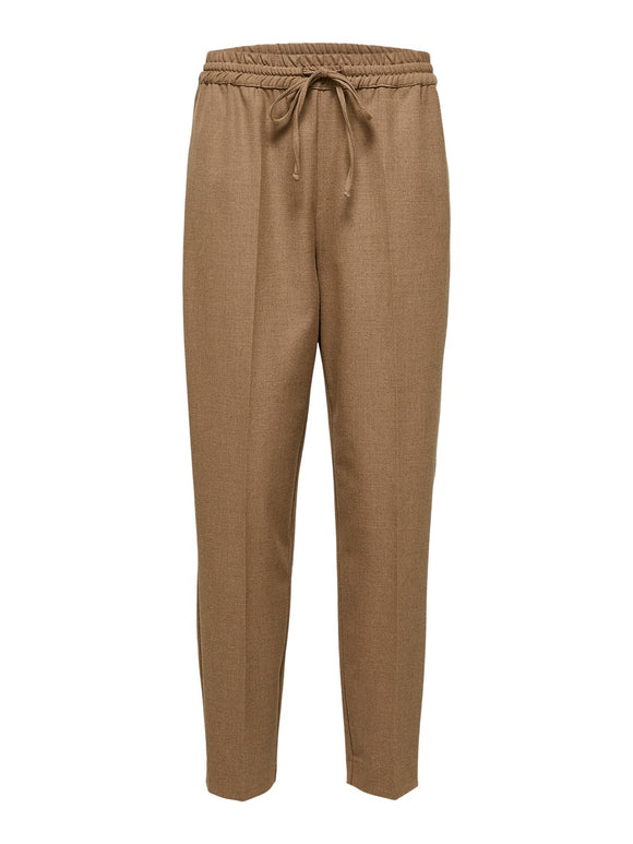 Selected Femme - Julie Straight Pant - Tigers Eye
