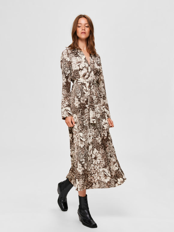 Selected Femme - Uri-Florenta Pattern Ankle Dress