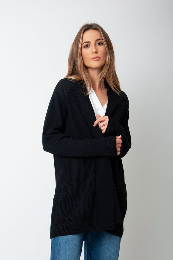 Sita Murt - Black Knit Cardigan