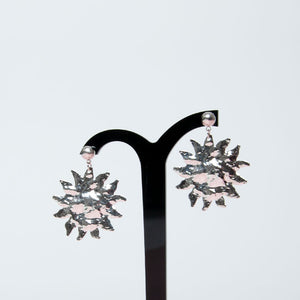 Tilley & Grace - Hera Sun Earrings in Silver