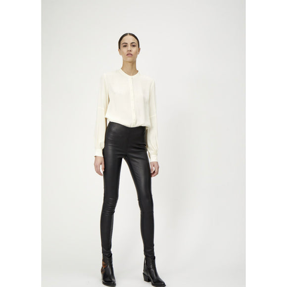 Just Female Nex Leather Leggings