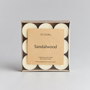 St Eval Sandalwood Scented Tealight Candles