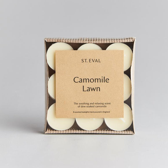 St. Eval - Camomile Lawn Scented Tealight Candles