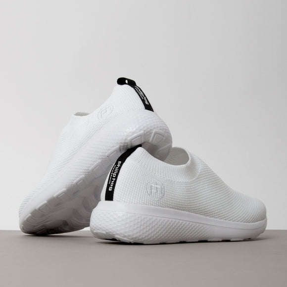 Philip Hog - Anja Slip On Trainer In White