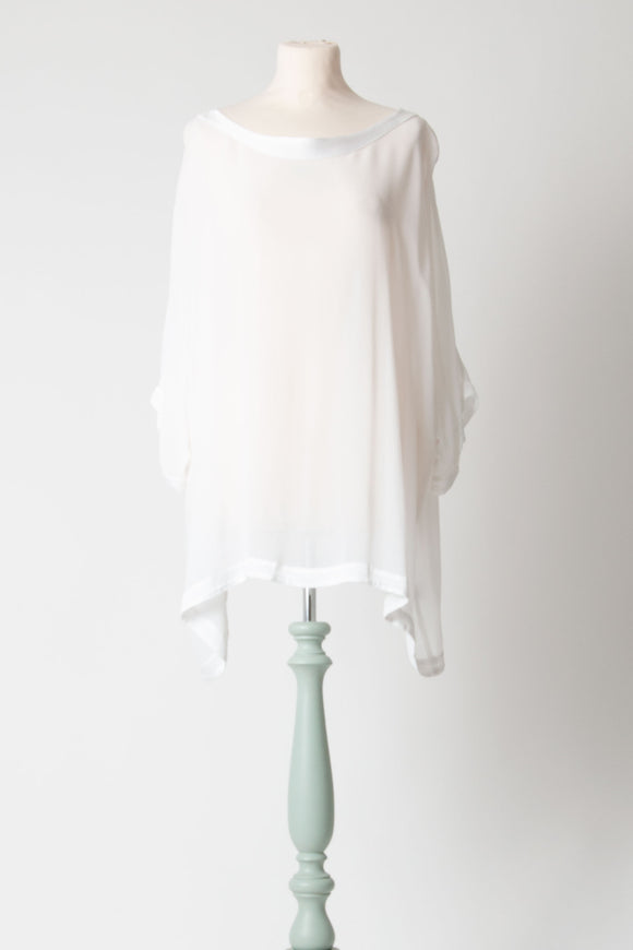 HW2 - White Tunic Top