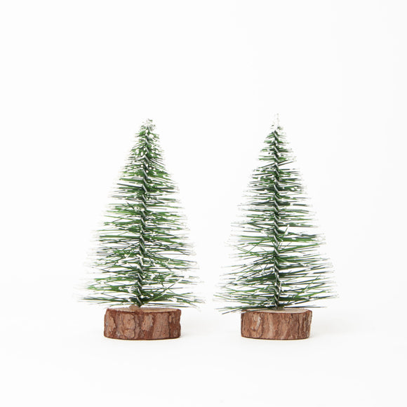 Set of 2 Christmas Tree Ornaments